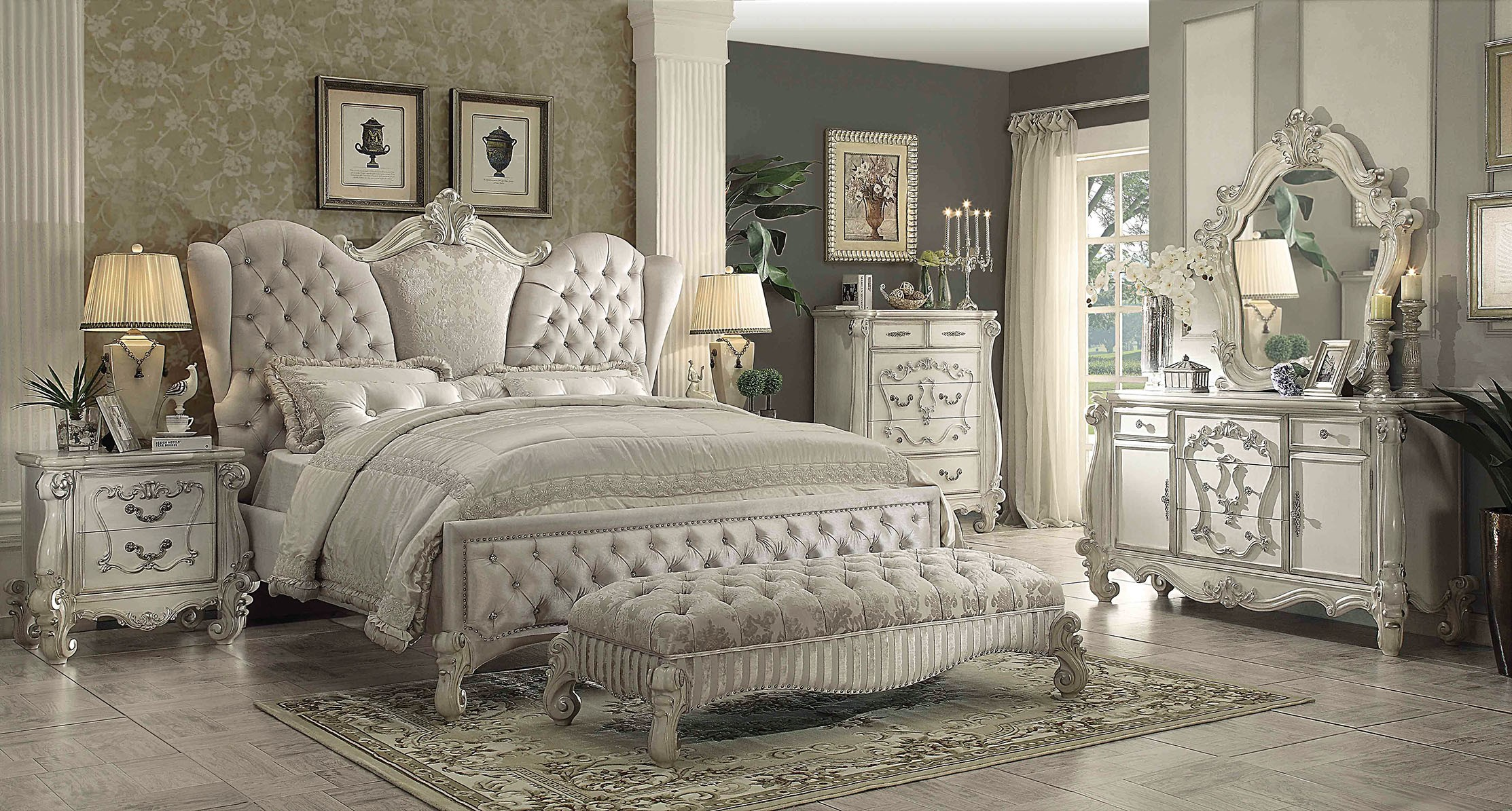 jsp set view diva sets piece furniture bedroom cal king willey bed champagne california rcwilley rc