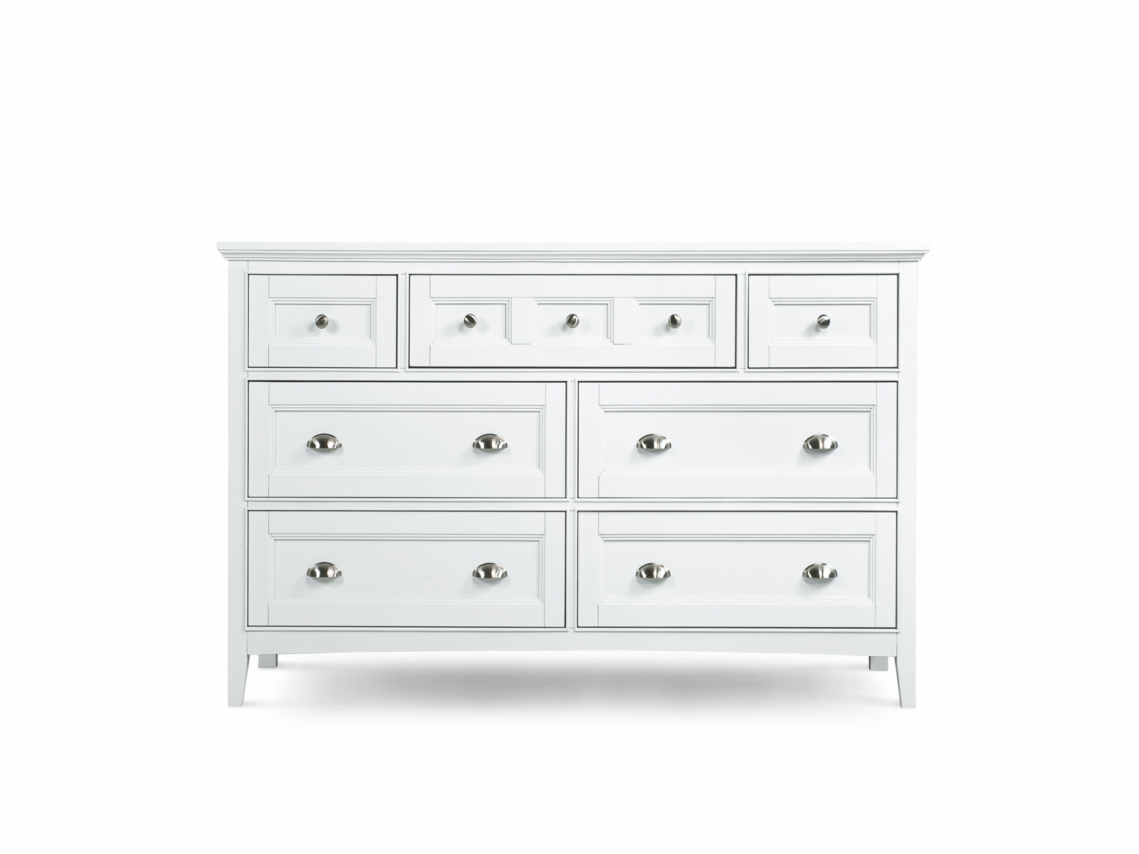 Magnussen Furniture Kentwood Double Dresser In White B1475