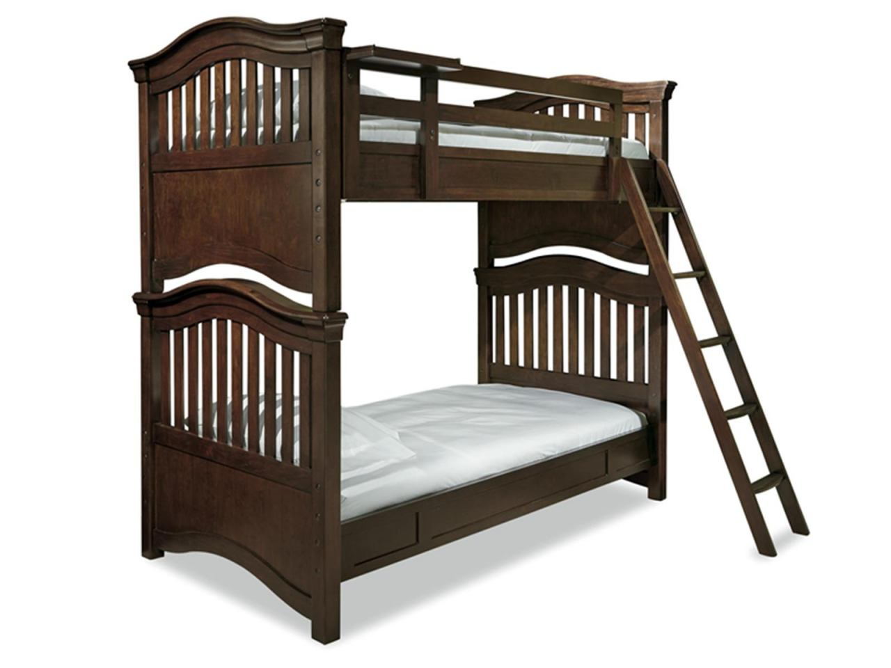 Universal Smartstuff Classics 4.0 Twin Bunk Bed in Classic Cherry 1312530 CODE:UNIV20 for 20% Off