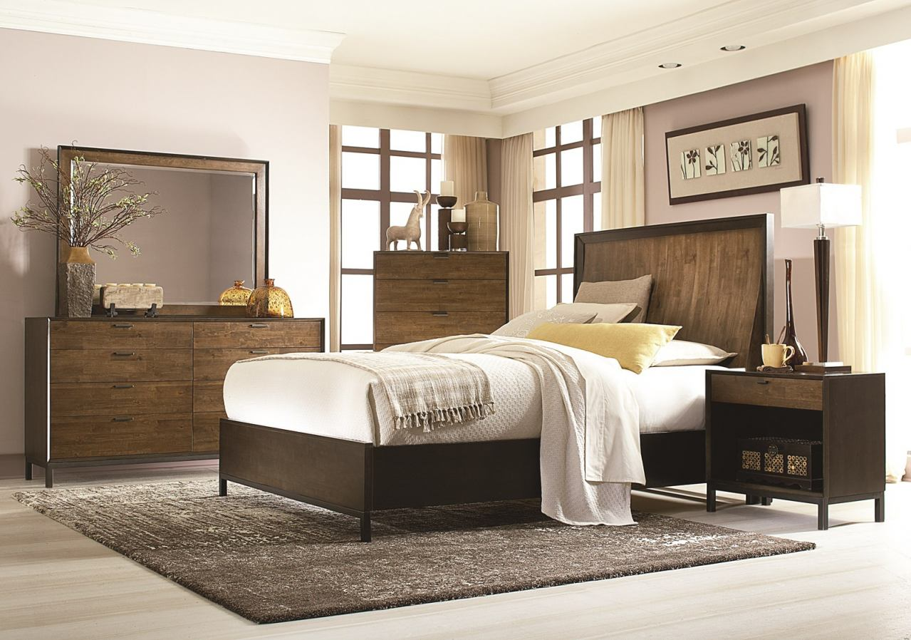 Legacy Classic Kateri Curved Panel Bedroom Set