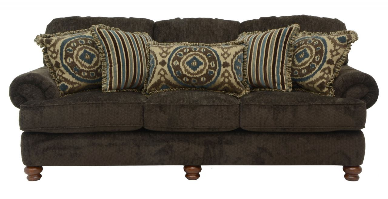 Jackson Belmont Sofa in Mahogany 4347-03 CODE:UNIV20 for 20% Off