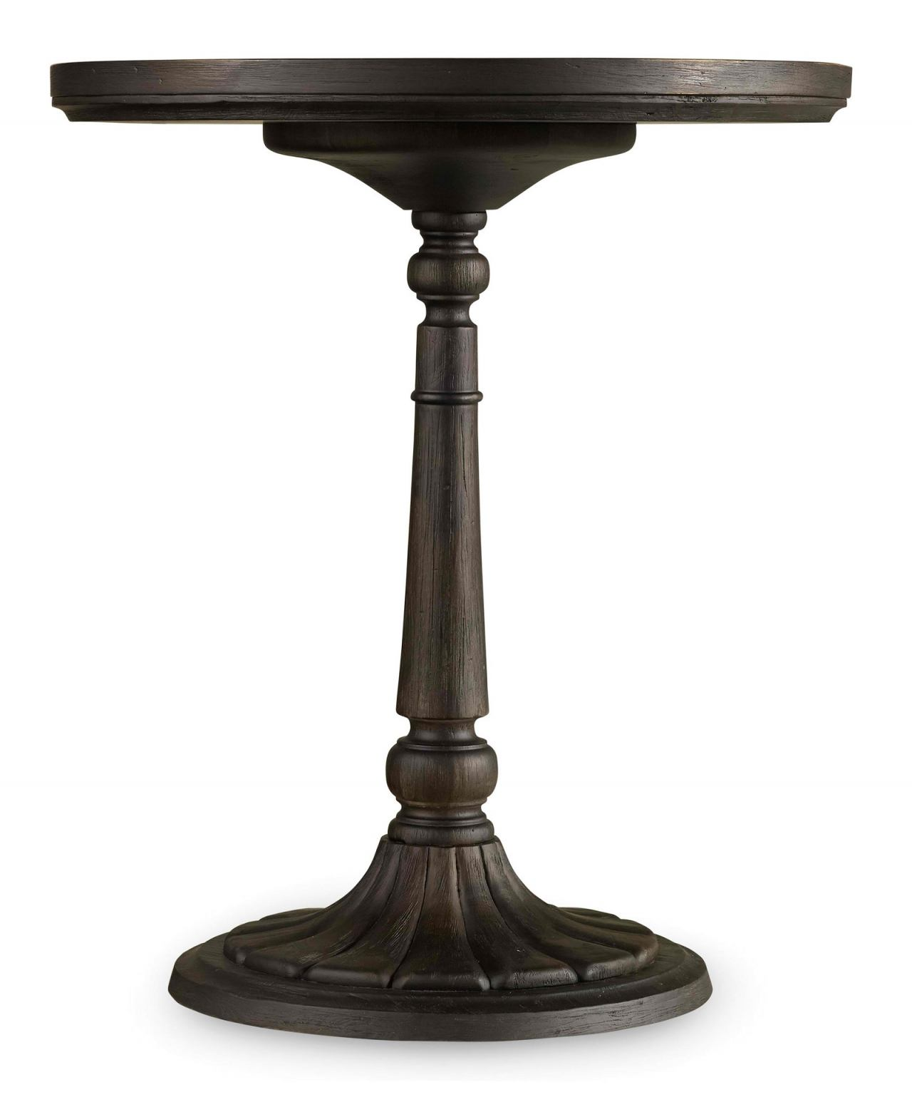 Hooker Furniture Corsica Round Bedside Table in Espresso 5280-90015 CLEARANCE