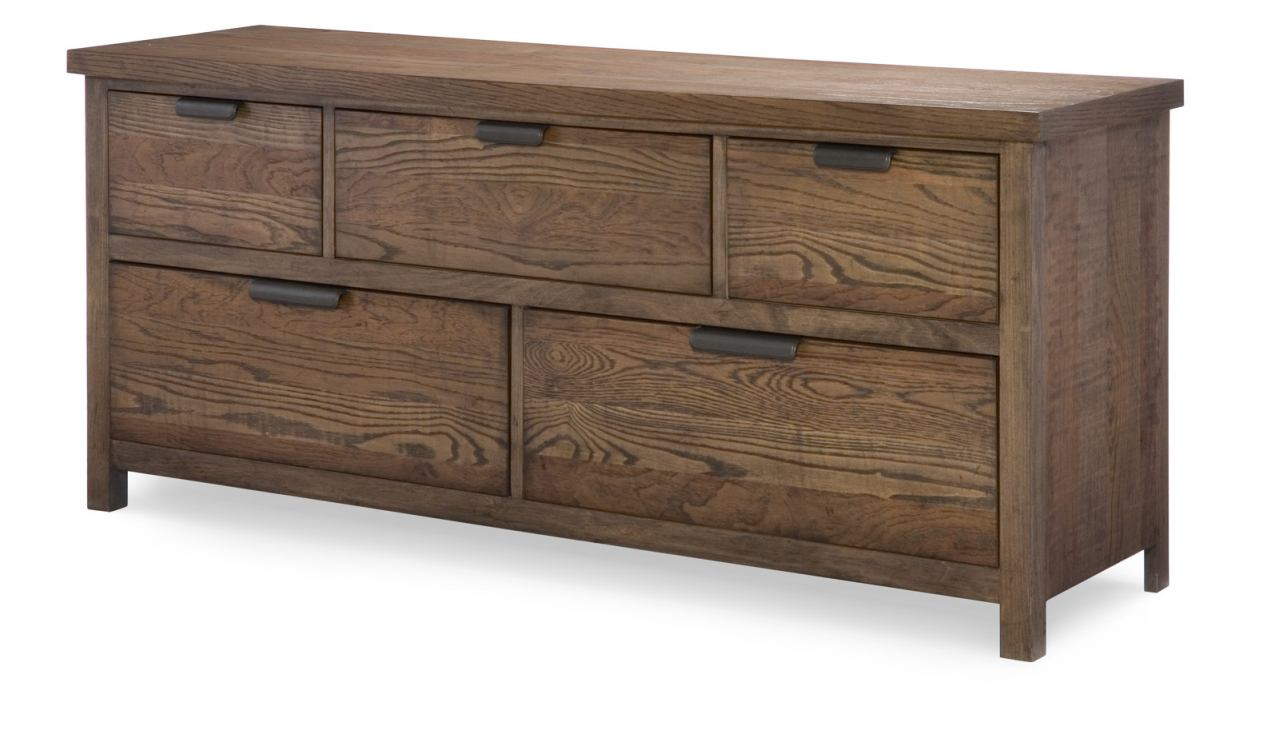 Legacy Classic Kids Fulton County 5-Drawer Dresser in Tawny Brown 5900-1200