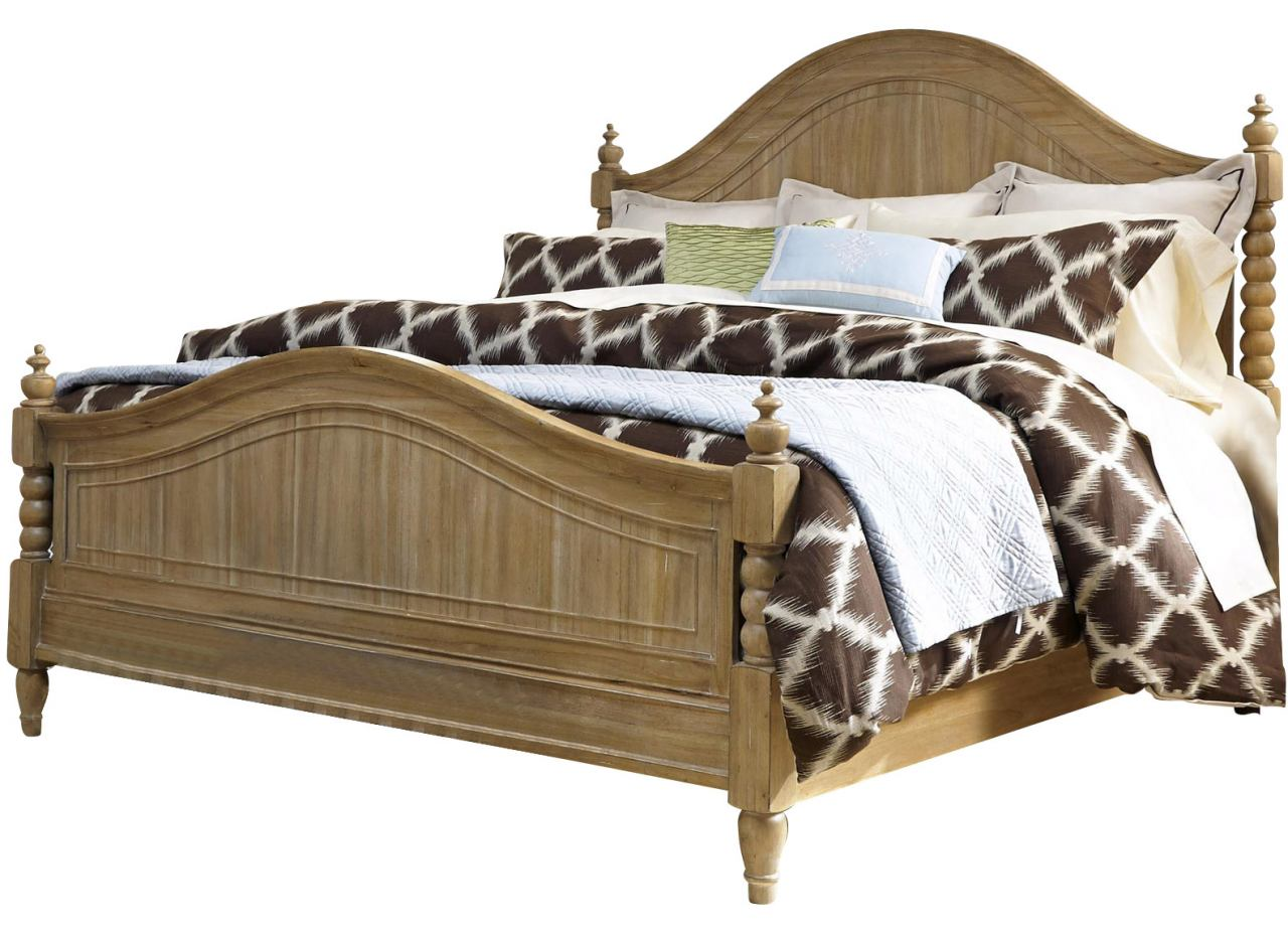 Liberty Furniture Harbor View Queen Poster Bed in Sand 531-BR-QPS