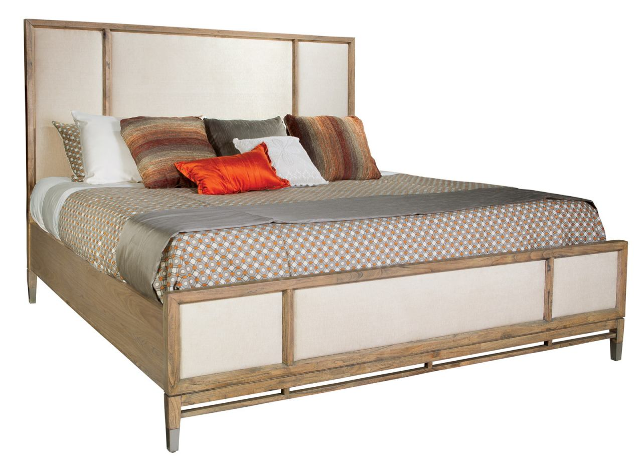 Hekman Avery Park Queen Panel Bed in Light Brown 951566AV