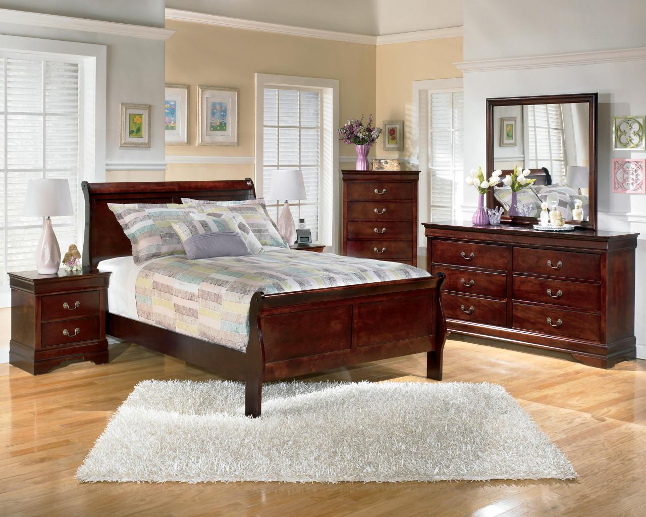 Cool Sleigh Bedroom Sets Exterior
