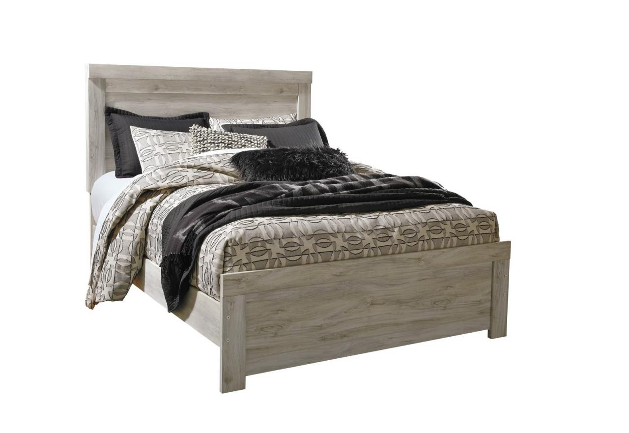 Picture of: Bellaby Queen Panel Bed In Whitewash