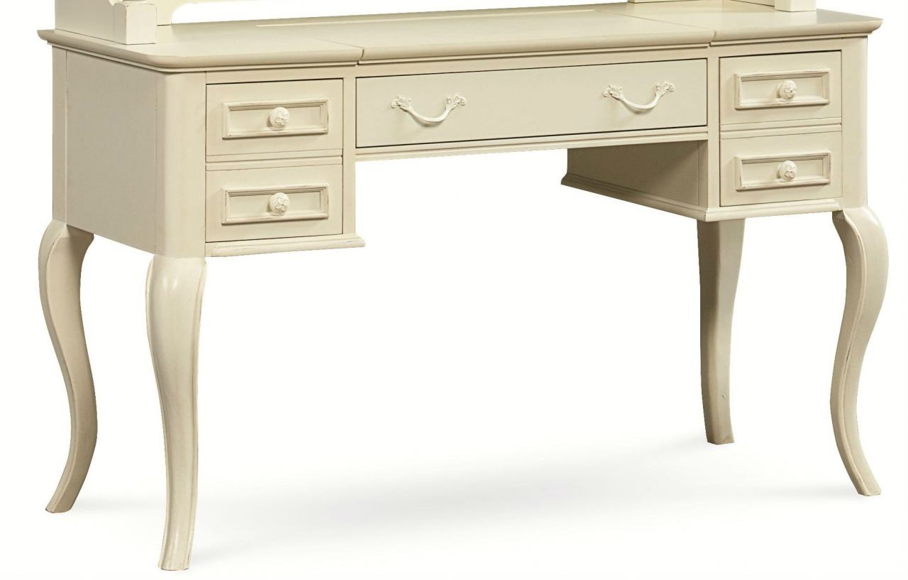 Legacy Classic Kids Charlotte Desk in Antique White 3850-6100 CLEARANCE - Classic Kids Charlotte Desk In Antique White 3850-6100 CLEARANCE