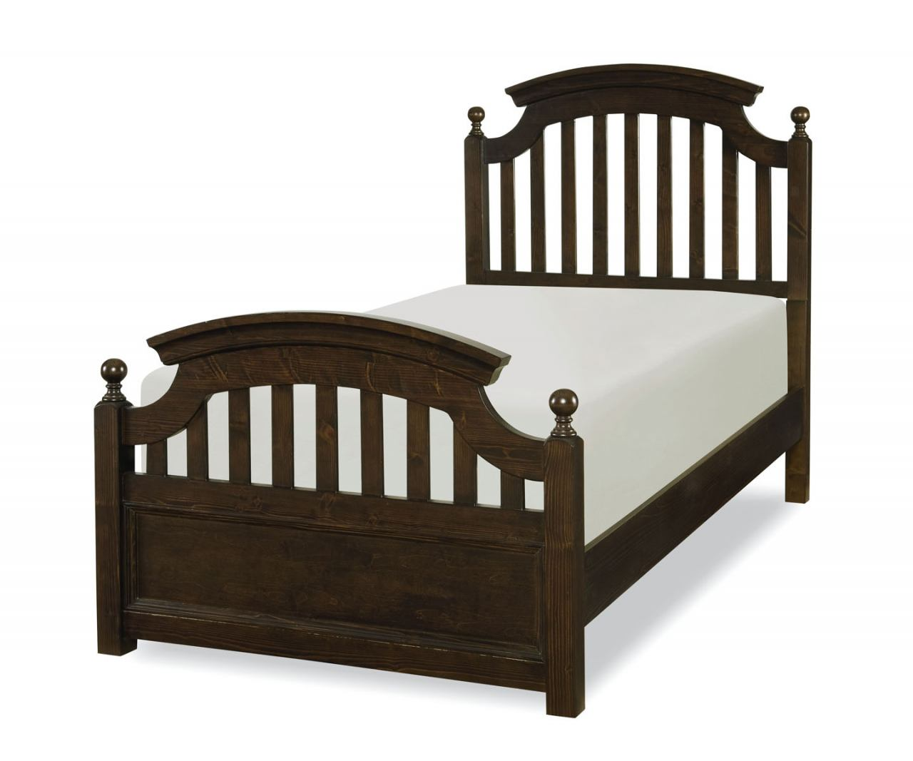 Legacy Classic Kids Academy Twin Panel Bed in Molasses 5810-4103K CODE:UNIV20 for 20% Off