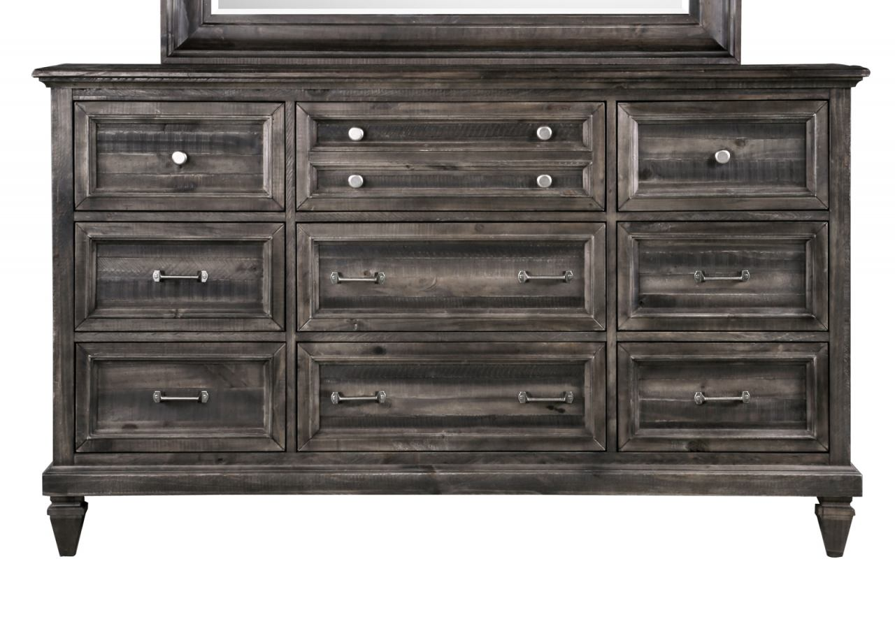 Magnussen Calistoga 9 Drawer Dresser  in Weathered Charcoal B2590-20