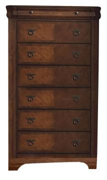 New Classic Sheridan Chest in Burnished Cherry Finish 00-005-070