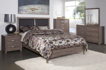 New Classic District 7 5-Piece Bedroom Set in Ash 3D Paper