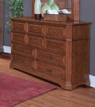 New Classic Oakridge Dresser in Tawny Finish 00-165-050