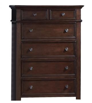 New Classic Prescott 5-Drawer Chest in Sable 00-181-070