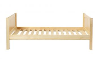 Maxtrix Basic Low/Low Panel Bed in Natural