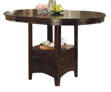 Coaster Furniture Lavon Counter Height Table in Cappuccino 102888