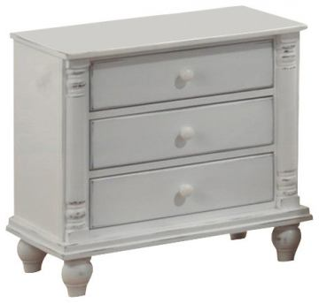 Coaster Kayla Nightstand in White 201182
