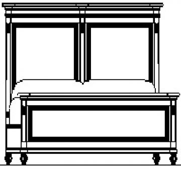 Fine Furniture Camden Brookston Queen Upholstered Bed in Brookhaven