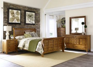 Emma Mason Signature Shauntel 4-Piece Sleigh Bedroom Set