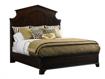Stanley Furniture Charleston Regency Queen Cathedral Bed in Classic Mahogany 302-13-40