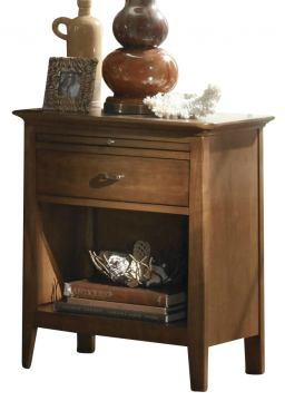 Kincaid Cherry Park Solid Wood Open Night Stand 63-143V