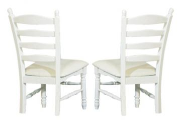 Homelegance Pottery Side Chair in White 875W-11C