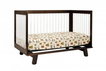 Babyletto Hudson 3-in-1 Convertible Crib with Toddler Rail in Espresso M4201Q