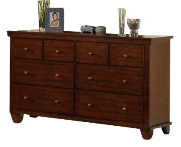 Acme Urbana 8-Drawer Dresser in Walnut 10225