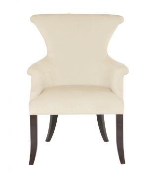 Bernhardt Jet Set Arm Chair in Caviar (Set of 2) 356-542