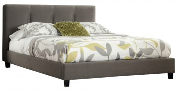Masterton King Upholstered Bed in Espresso
