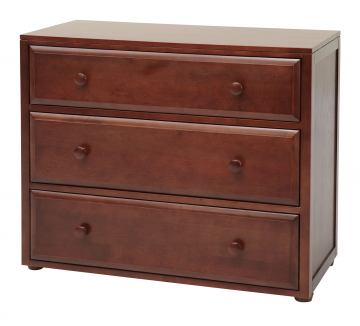 Maxtrix 3 Drawer Dresser without Crown and Base in Chestnut 4230-003