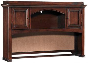 Samuel Lawrence Furniture Expedition Desk Hutch in Cherry 8468-453