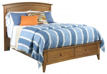Kincaid Gatherings Arch King Bed in Hiney Finish 44-2210P