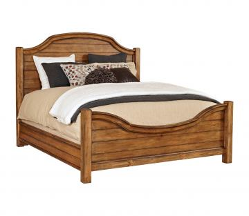 Broyhill Bethany Square™ California King Panel Bed in Brown 4930