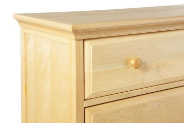 Maxtrix Crown and Base Kit for 4.5 Drawer Chest in Natural 5045-001