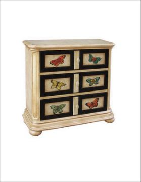 Pulaski Hall Chest in Hand Painted Libby Finish