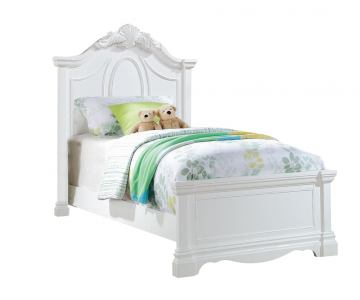 Acme Estrella Youth Full Panel Bed in White 30235F
