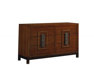 Tommy Bahama Home Island Fusion Tahara Dresser in Dark Walnut 556-222