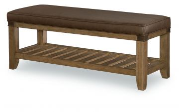 Legacy Classic Metalworks Bedroom Bench in Factory Chic 5610-4800 CODE:UNIV20 for 20% Off