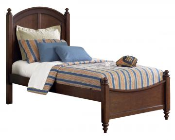 Liberty Furniture Abbott Ridge Youth Twin Panel Bed in Cinnamon 277-TPB