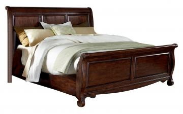 Liberty Furniture Sinclair Queen Sleigh Bed in Rustic Russet 428BR-QSL