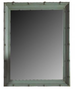 Fine Furniture Summer Home Bamboo Mirror in Sky 1053-152