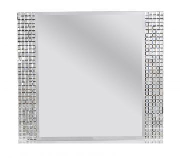 Standard Furniture Marilyn Landscape Mirror in Glossy White 66318