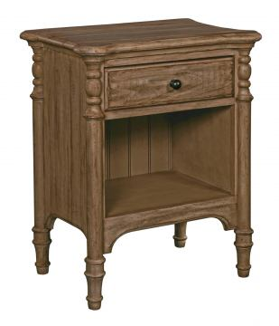 Kincaid Weatherford Open Nightstand in Grey Heather 76-143