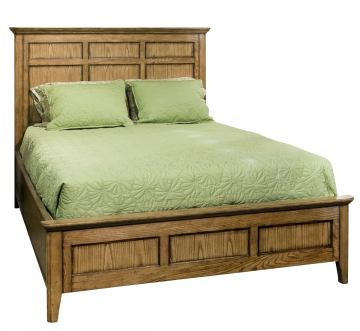 Intercon Furniture Alta King Panel Bed in Brushed Ash