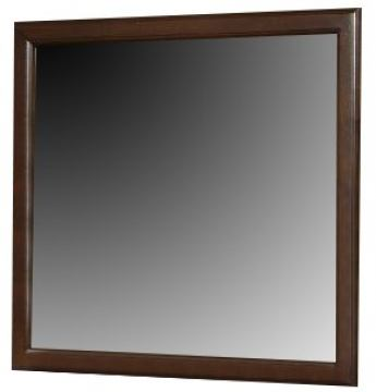 Alpine Furniture West Haven Mirror in Cappuccino