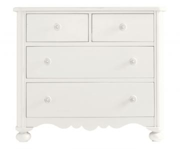 Stanley Coastal Living Retreat Seaside Chest in Saltbox White 411-23-02