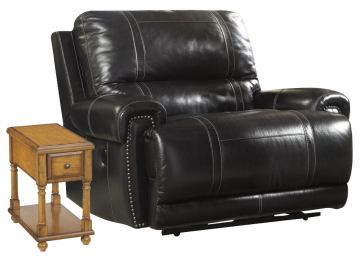 Paron - Antique Father's Day Power Wide Seat Recliner Package $1,299.00
