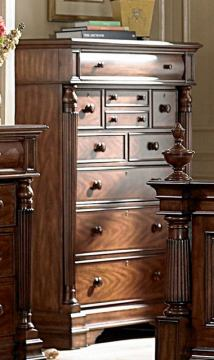 Homelegance English Manor Chest in Cherry 834-9