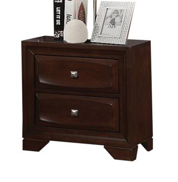 Coaster Jaxson Nightstand in Cappuccino 203482